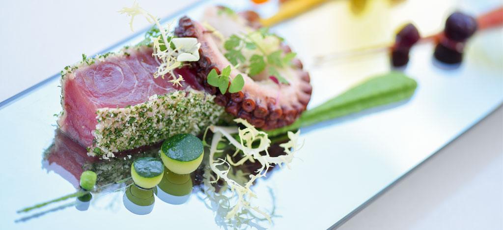 Chef recipe tuna