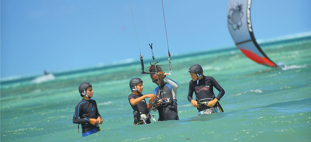 Kitesurf School - Dinarobin Hotel Golf & Spa - Sports & Activities