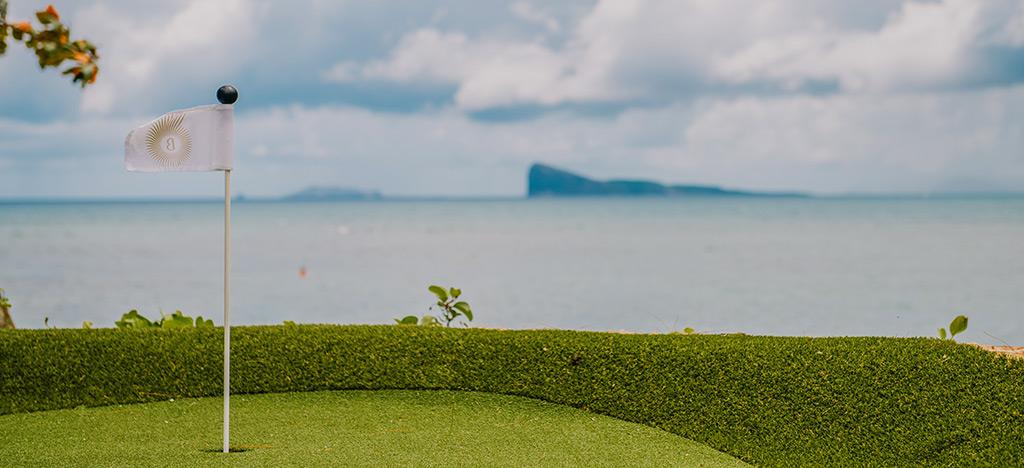 Mini Golf Putt Putt Canonnier Beachcomber coin de mire