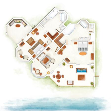 2-Bedroom Club Luxury Family Suite