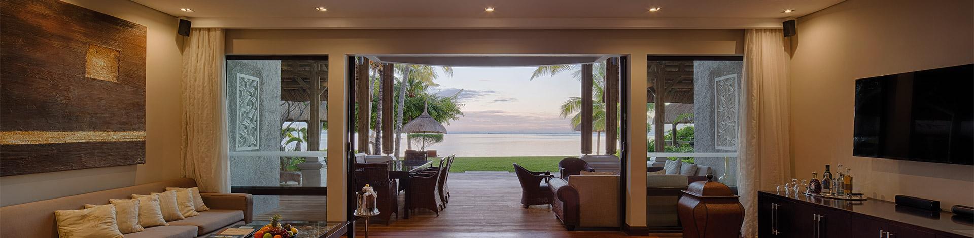 Beachfront villas slider
