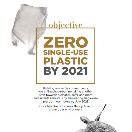 Objective: Zero Single-Use Plastic by 2021