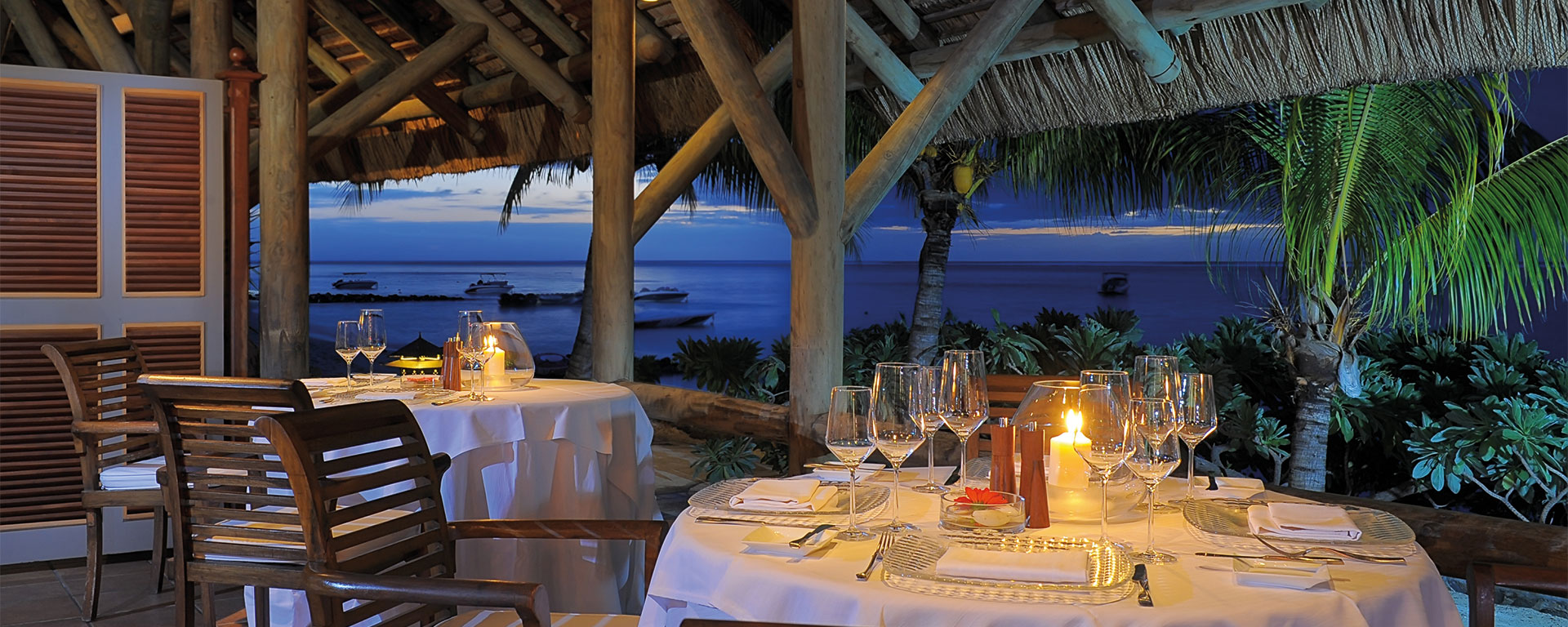 Culinary Paradise found at Paradis Beachcomber