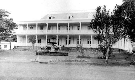 Opening of the Park Hotel