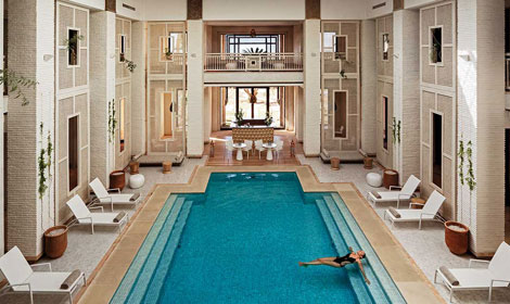 Opening of a Spa by Clarins at the Royal Palm Marrakech. An exclusivity in Morocco