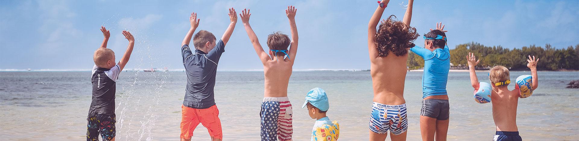 Beachcomber kids