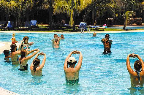 Aquagym - Land Sports - Le Canonnier - Sports & Activities