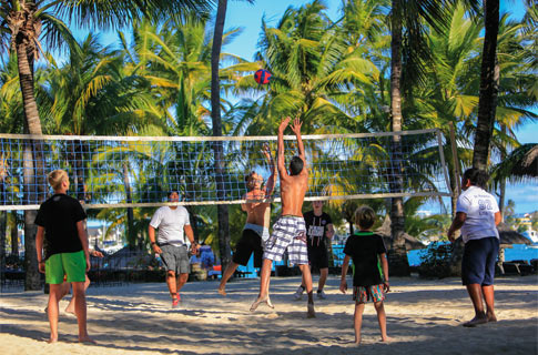 Volleyball - Land Sports - Le Mauricia - Sports & Activities
