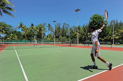 Tennis - Land Sports - Shandrani Resort & Spa - Sports & Activities
