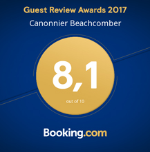 Canonnier Beachcomber - Awards