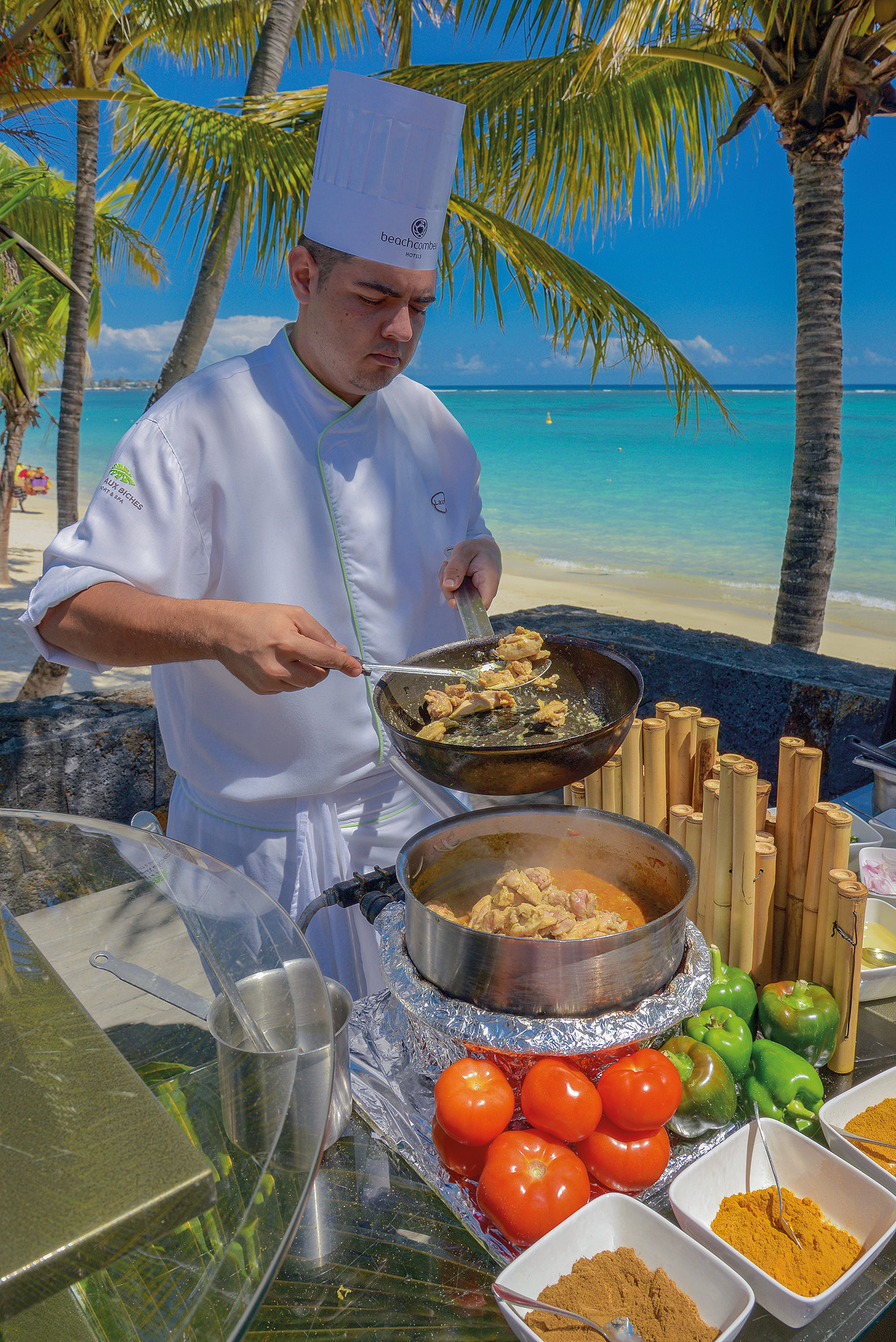Cooking classes at Trou aux Biches Mauritius