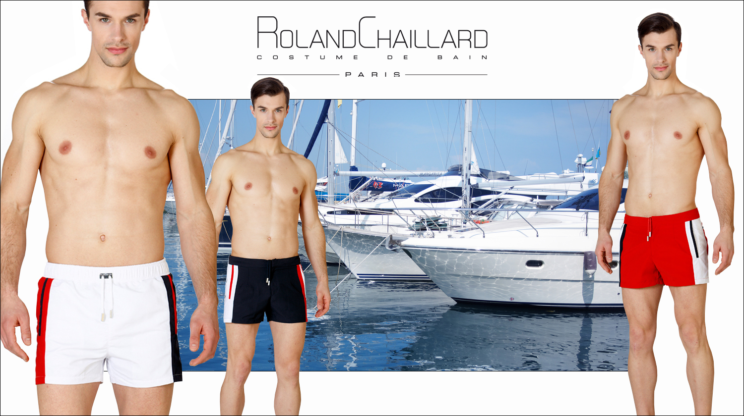 The new collection of Roland Chaillard, costume de bain available at Royal Palm Mauritius