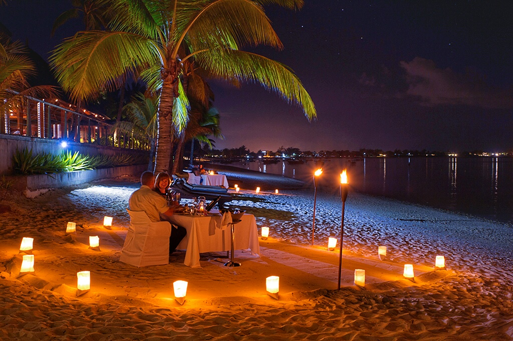 news details exclusive romantic starlight dinners beach trou biches