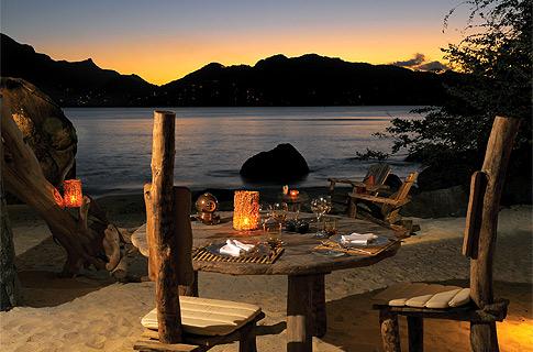 Le Robinson - Sainte Anne Island  - Restaurant - Dining