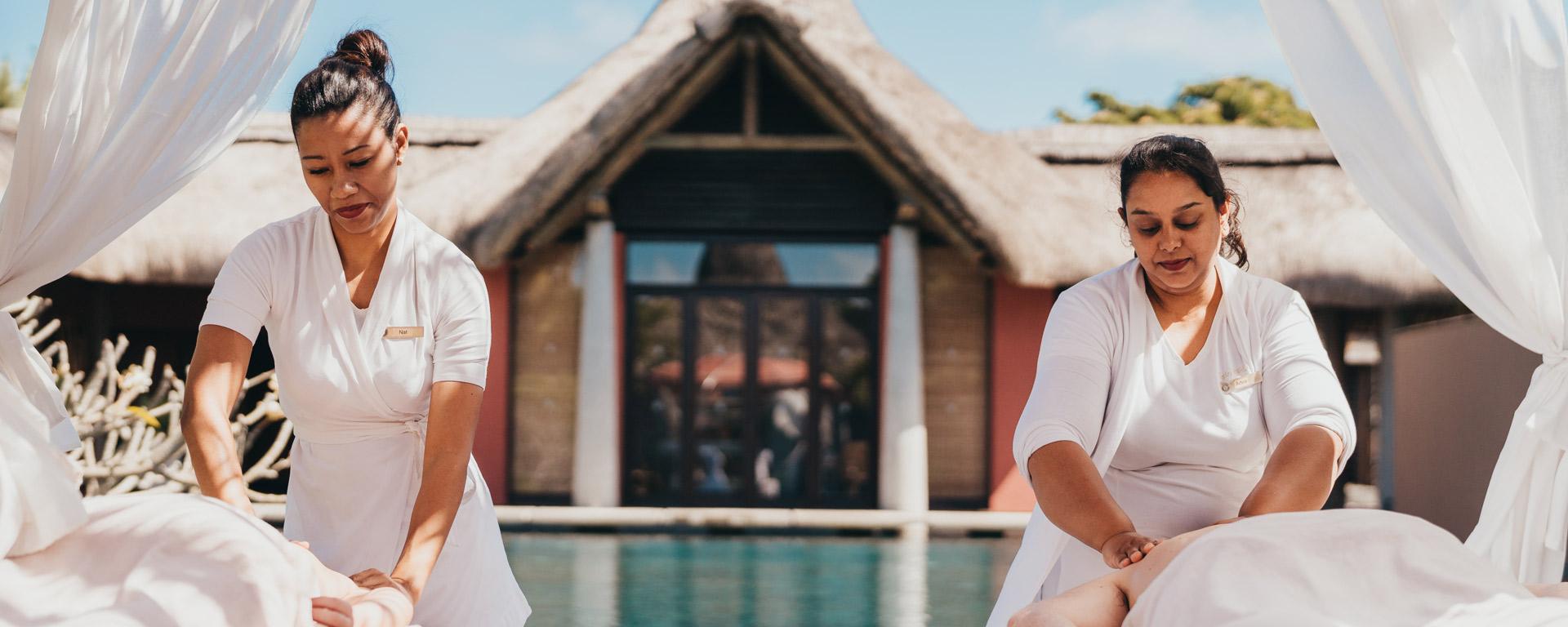 Trou aux Biches Beachcomber Spa mauritius