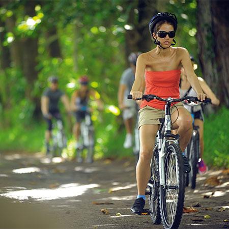 Desporto, natureza e relaxamento
