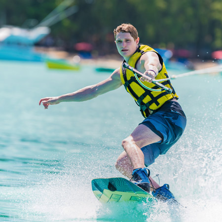 Sport experience beachcomber mauritius