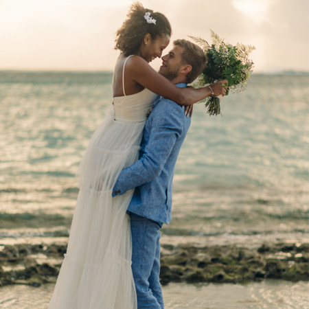 mauritius beachcomber wedding honeymoon